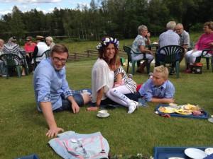 Midsommarsfirande i Örsås 3